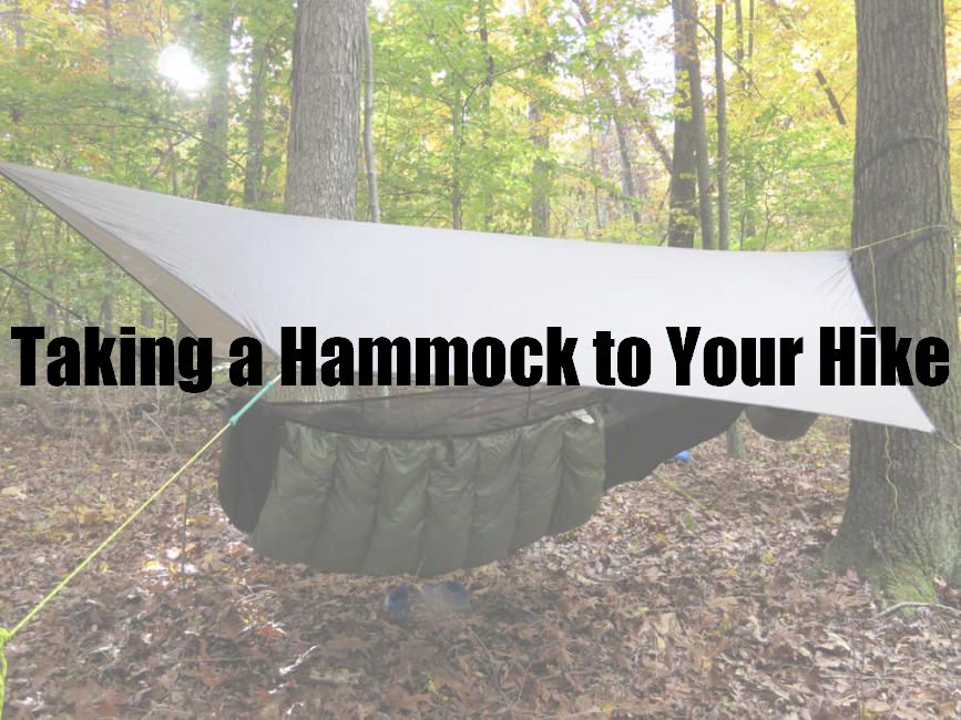 Taking a Hammock to Your Hike