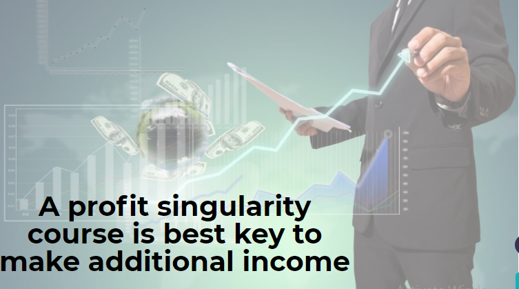 A profit singularity course is best key to make additional income